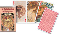 Karty do gry Piatnik 1 talia Mucha - brak
