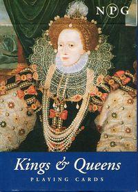 Karty do gry Piatnik 1 talia Brytyjscy królowie - PRACA ZBIOROWA