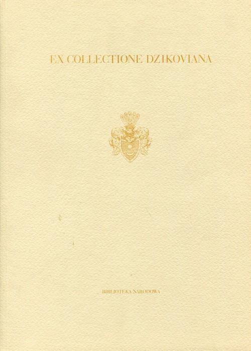 Ex collectione Dzikoviana