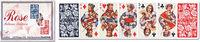 Karty do gry Piatnik 2 talie pasjansowe Kwiaty - brak