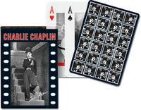 Karty do gry Piatnik 1 talia Charlie Chaplin - PRACA ZBIOROWA