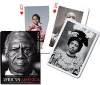 Karty do gry Piatnik 1 talia African America - PRACA ZBIOROWA