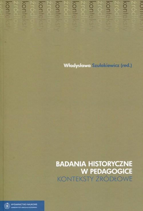Badania historyczne w pedagogice