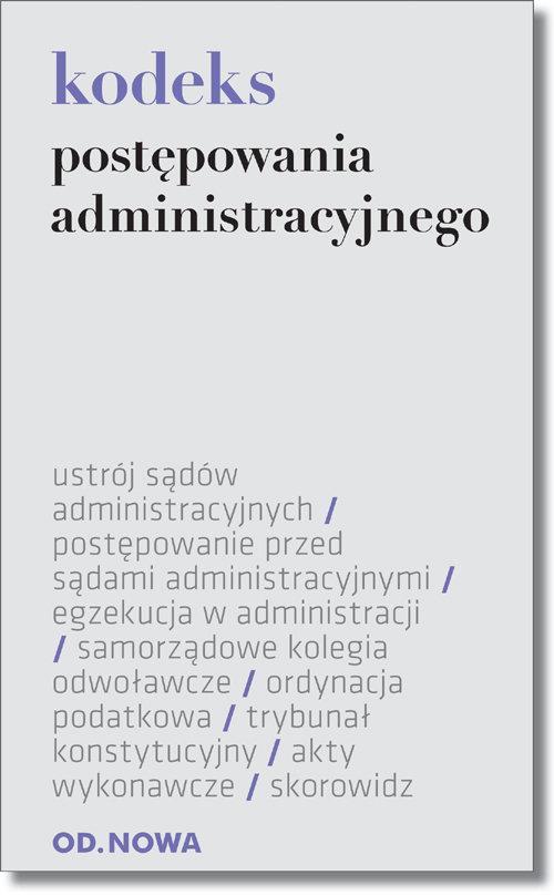 Kodeks postępowania administracyjnego - brak
