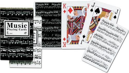 Karty Muzyczne Piatnik 1 talia - brak