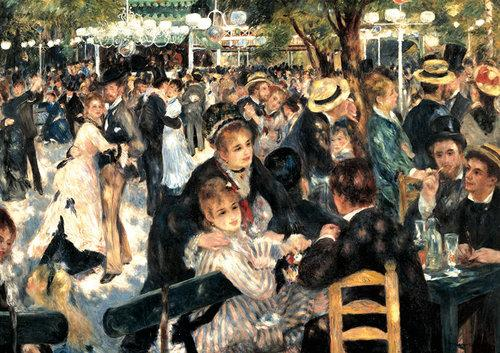 Puzzle Piatnik Renoir Bal w Moulin de la Galette 1000 - brak