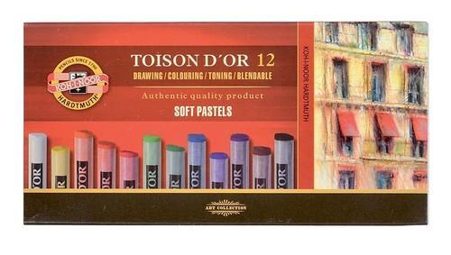 Pastele suche Toison D'Or 12 sztuk