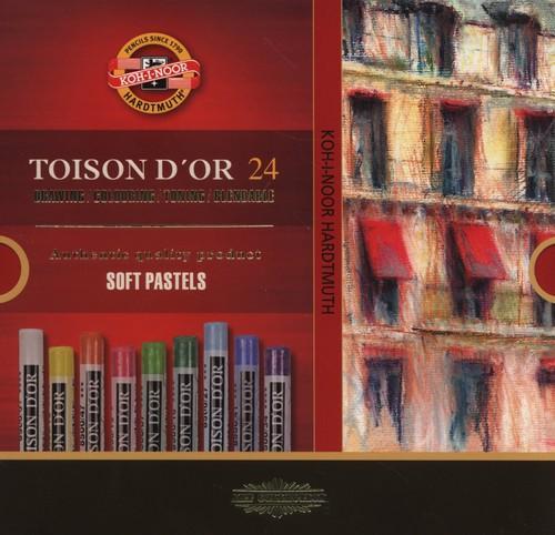 Pastele suche Toison D'Or 24 sztuki