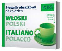 Słownik obrazkowy na co dzień włoski-polski - brak