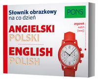 Słownik obrazkowy na co dzień angielski-polski - brak