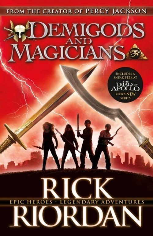 Demigods and Magicians - Riordan Rick