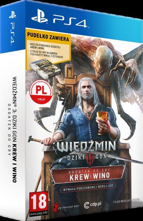 Wiedźmin 3 Krew i Wino PS4