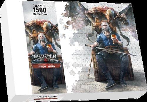 Puzzle Wiedźmin 3 Krew i Wino 1500