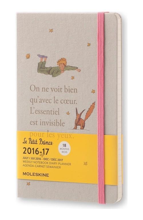 Kalendarz Moleskine Mały Książę M18 2016/17 Tydzień+Notatki L