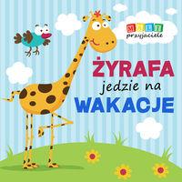Mali przyjaciele Żyrafa jedzie na wakacje
