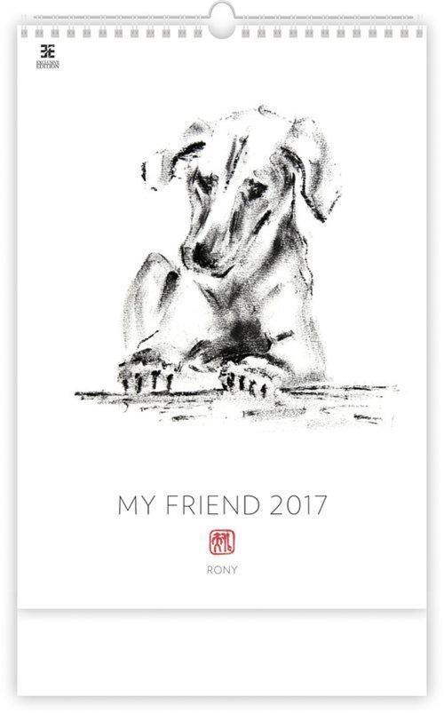 Kalendarz 2017 Mój Przyjaciel EX