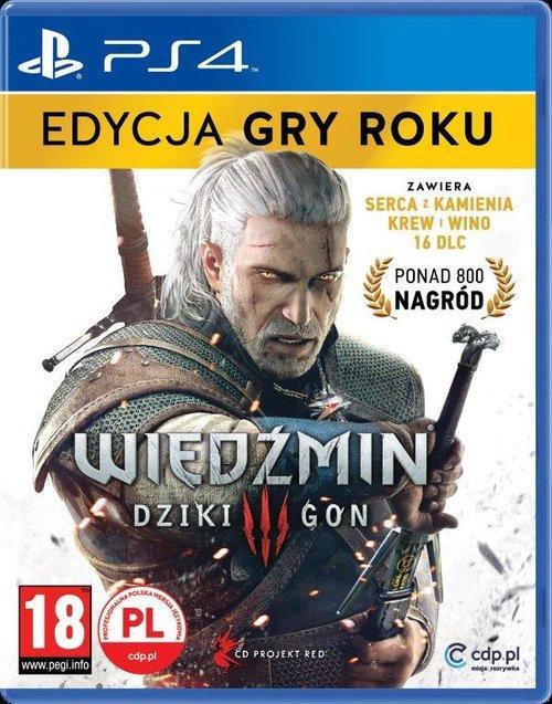 Wiedźmin 3 Edycja Gry Roku PS4