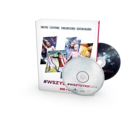 #Wszystkogra DVD+CD
