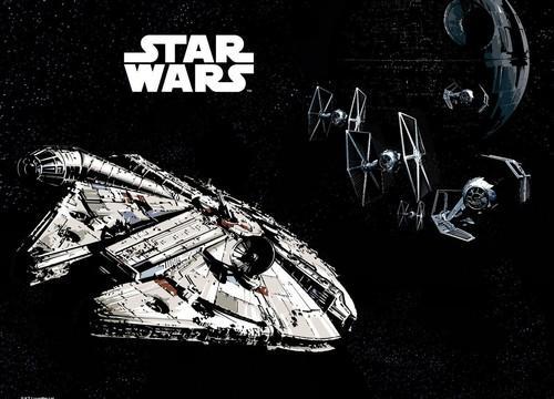 Podkład oklejany Star Wars Sokół Millenium
