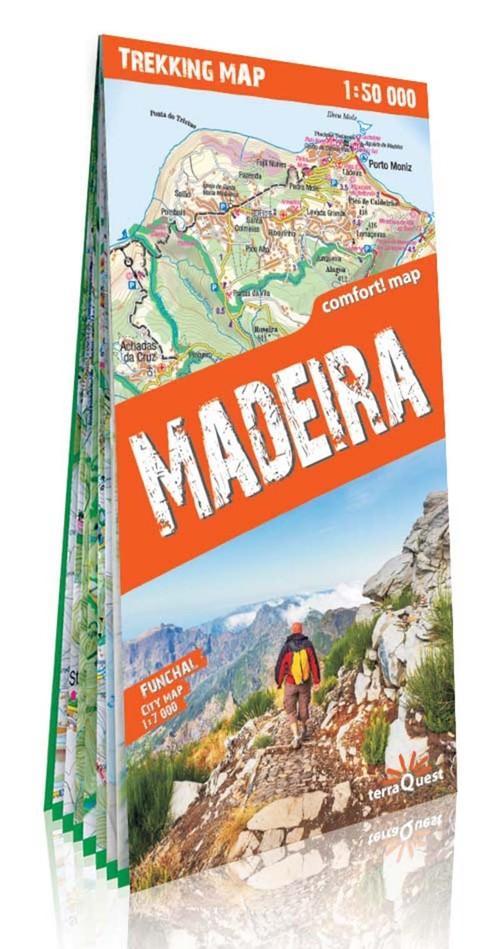 Madera mapa trekkingowa - brak