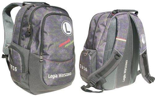 f58fc75c16436 Plecak szkolny LEGIA WARSZAWA