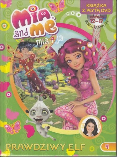 Mia and Me. Książka+DVD nr 4/14 - PRACA ZBIOROWA