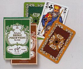 Karty Liście Dębu - Bridge Poker Whist - brak