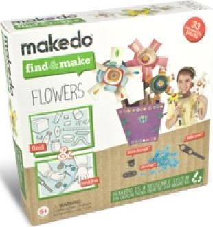 Makedo Zestaw kwiaty - FM01-006
