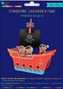 Zestaw kreatywny Statek piratów 3D z pianki