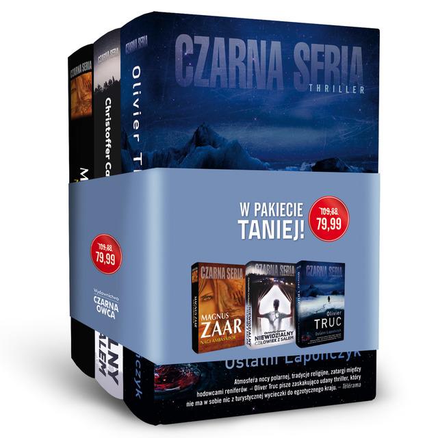 Pakiet Czarna seria II - Magnus Zaar, Christoffer Carlsson