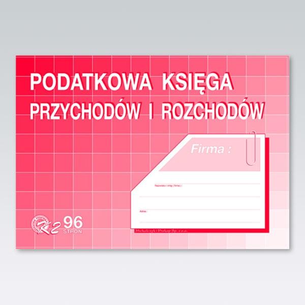 Druki offsetowe Michalczyk I Prokop Podatkowa księga przychodów i rozchodów A4, A4 80 (K-2)