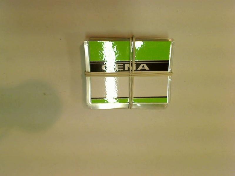 Etykieta cenowa laminowana A8 butelka