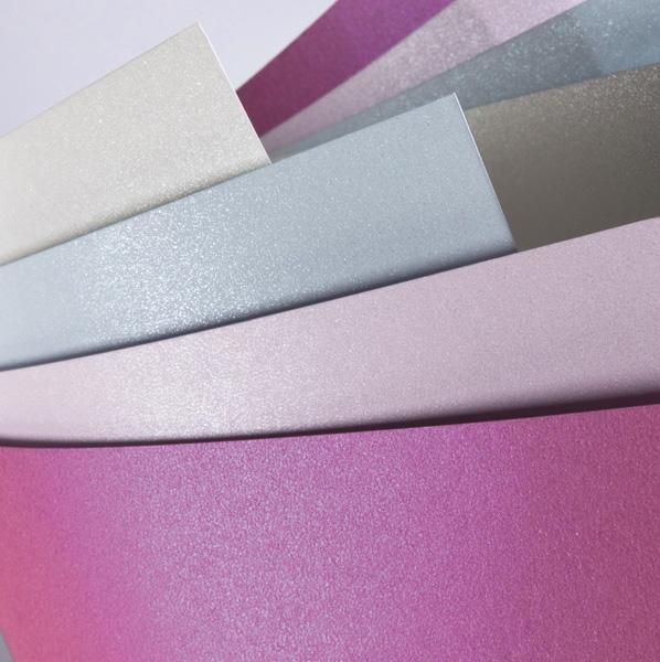 Papier ozdobny (wizytówkowy) Galeria Papieru millenium A4 biały 220g