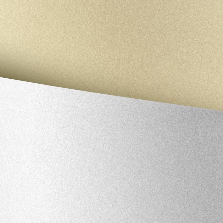 Papier ozdobny (wizytówkowy) millenium biały 100g 50